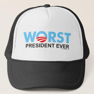 Obama WorstEver Trucker Hat
