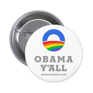 Obama Y'all button