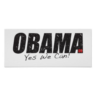 Obama Yes! Poster