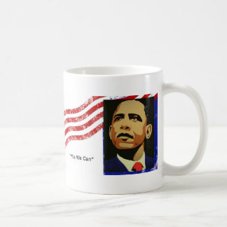 Obama / Yes We Can Coffee Mug