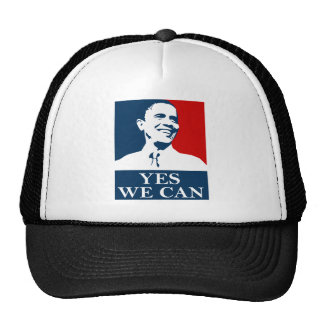 Obama Yes we can Mesh Hat