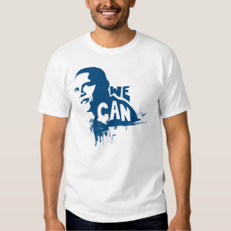 Obama Yes We Can Tee Shirts