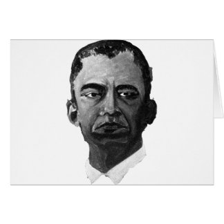 OBAMA  - YES WE WILL GREETING CARD