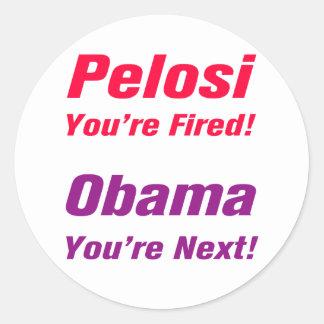 Obama You're Next! Sticker