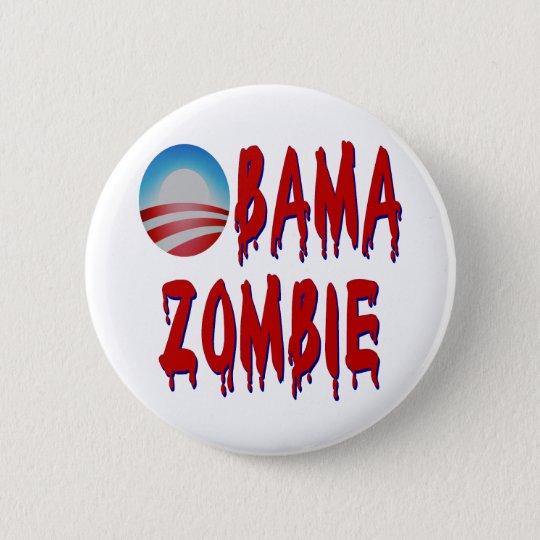 Obama Zombie 6 Cm Round Badge