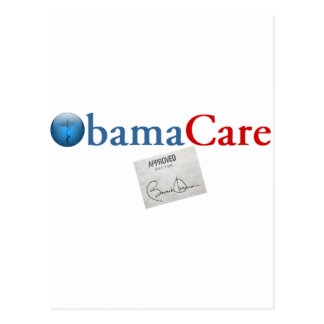 ObamaCare Approved Postcard