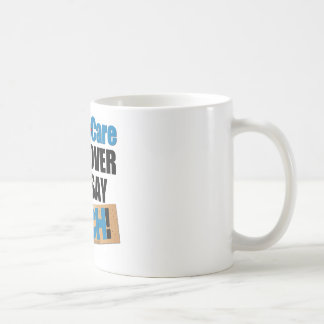 ObamaCare: Bend Over Basic White Mug