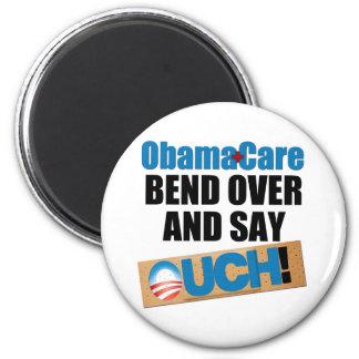 ObamaCare: Bend Over 6 Cm Round Magnet