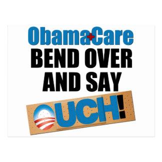 ObamaCare Bend Over Postcard