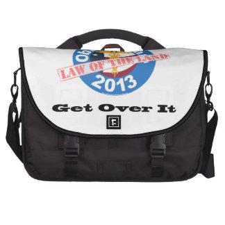 Obamacare Law of the Land Bag Bag For Laptop
