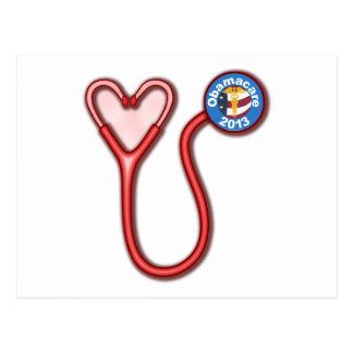 Obamacare Love Post Card