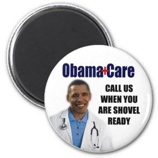 ObamaCare 6 Cm Round Magnet