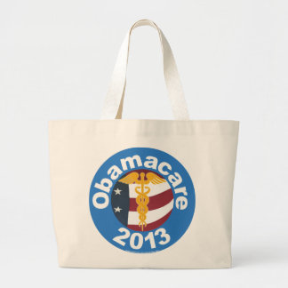 Obamacare Now Large Tote Bag