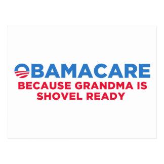 Obamacare Postcard