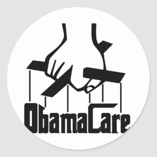 ObamaCare - Strings Attached Sticker