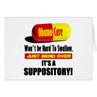 ObamaCare - Suppository Card