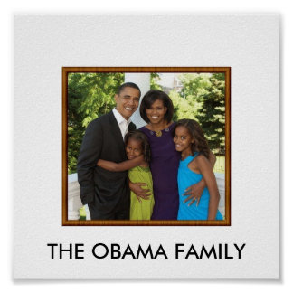 obamafamily, THE OBAMA FAMILY Poster