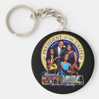 OBAMAFIRSTFAMILY KEY RING