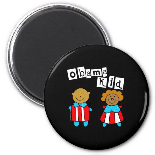 obamakidshirtD 6 Cm Round Magnet