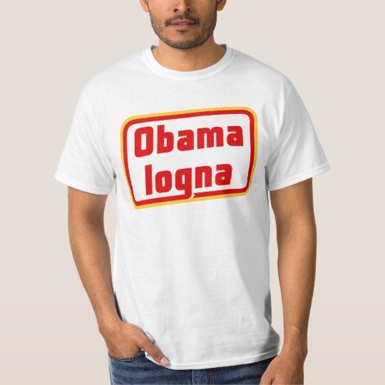 Obamalogna T-Shirt Front & Back