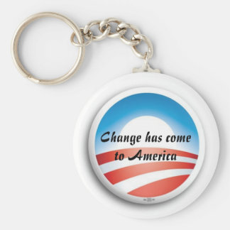 ObamaLogo, Change has come to America Key Ring
