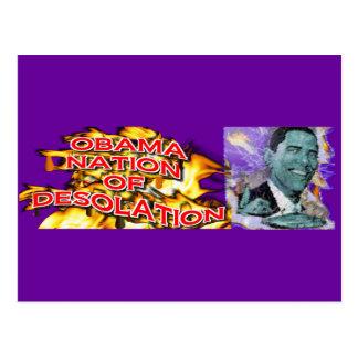 ObamaNation ABOMINATION DESOLATION Post Cards