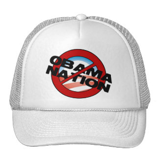 ObamaNation Buster Trucker Hats