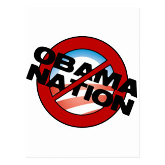ObamaNation Buster Postcard