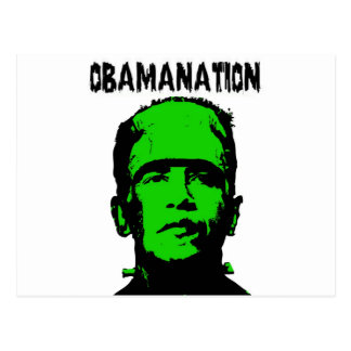 Obamanation Postcards