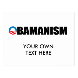 OBAMANISM POST CARD