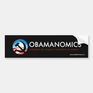 Obamanomics Socialist America Bumper Stickers