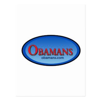 Obamans Memorabilia Logo Series Postcard