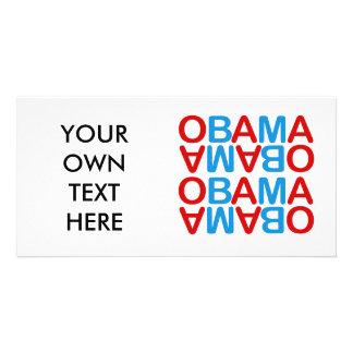 Obamareversed Custom Photo Card