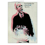 Obama's big news greeting card