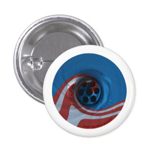 Obama's Eight Years are down the drain 3 Cm Round Badge