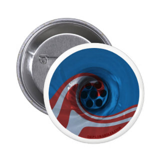 Obama's Eight Years are down the drain 6 Cm Round Badge
