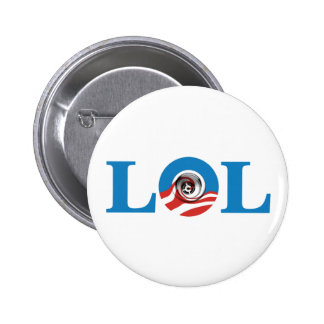 Obama's Eight Years are down the drain LOL 6 Cm Round Badge