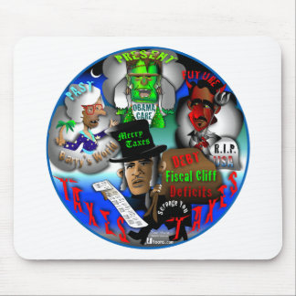 Obama's Ghosts of Christmas Mousepads