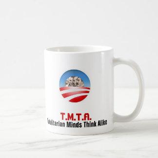 Obamas Heroes & Mentors Basic White Mug
