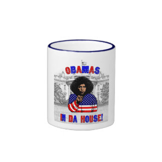 Obamas In Da House Mug