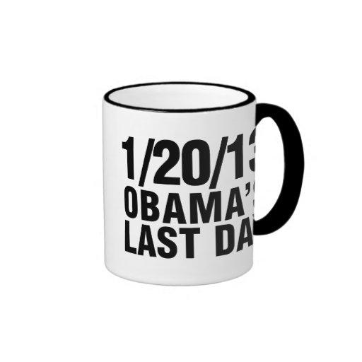 Obamas Last Day 1/20/13 Mugs