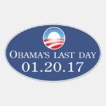Obama's Last Day 2017 Sticker