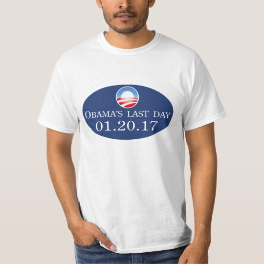 Obama's Last Day Tee