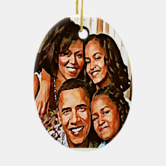 Obama's Love_ Christmas Ornament