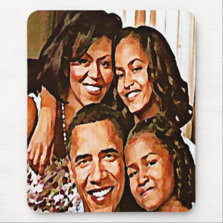 Obama's Love_ Mouse Pads