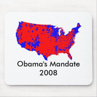 Obama's Mandate (?) 2008 Mouse Pad