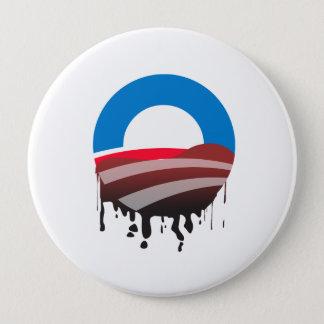 Obama's Oil Spill 10 Cm Round Badge