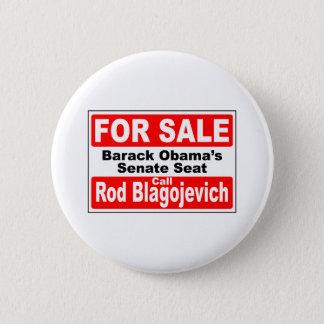 Obama's Senate Seat for Sale 6 Cm Round Badge