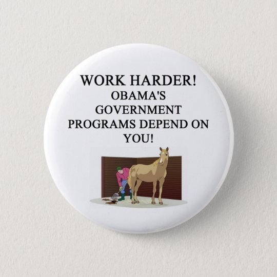 OBAMA's socialist america 6 Cm Round Badge