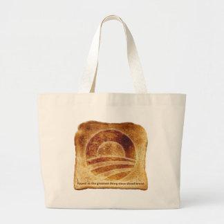 Obama's Toast Jumbo Tote Bag